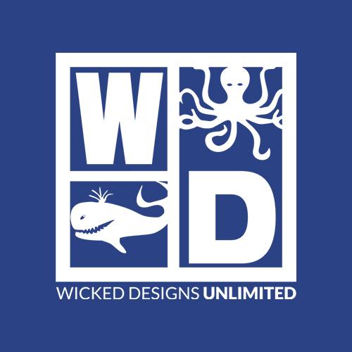 Wicked Designs Unlimited logo design