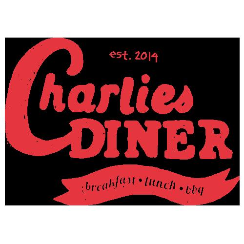 Charlie's diner logo design Get em tiger web design Jacksonville florida