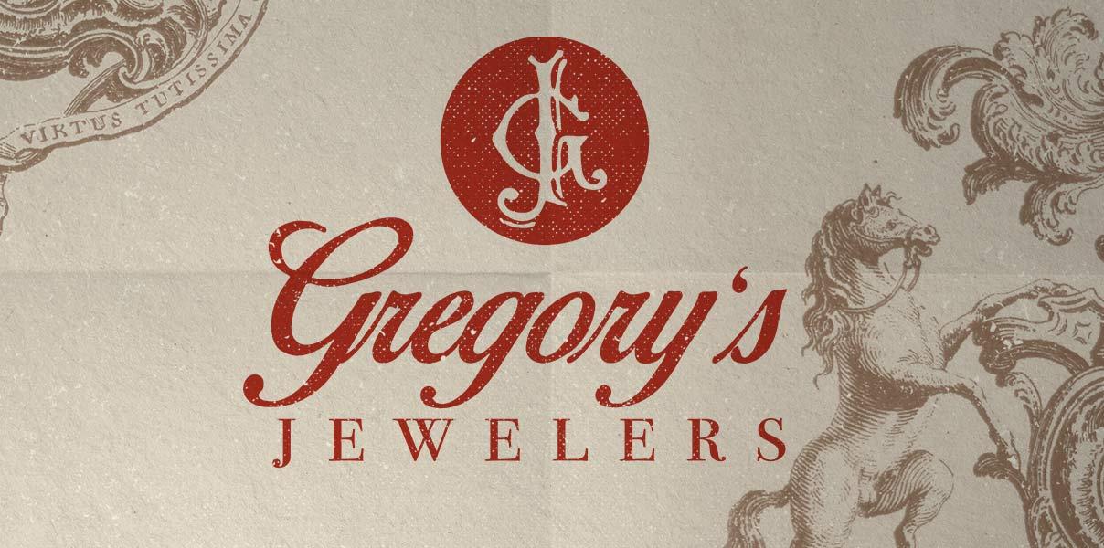 gregory's jewelers logo design Get Em' Tiger Logo Web Design Jacksonville Florida