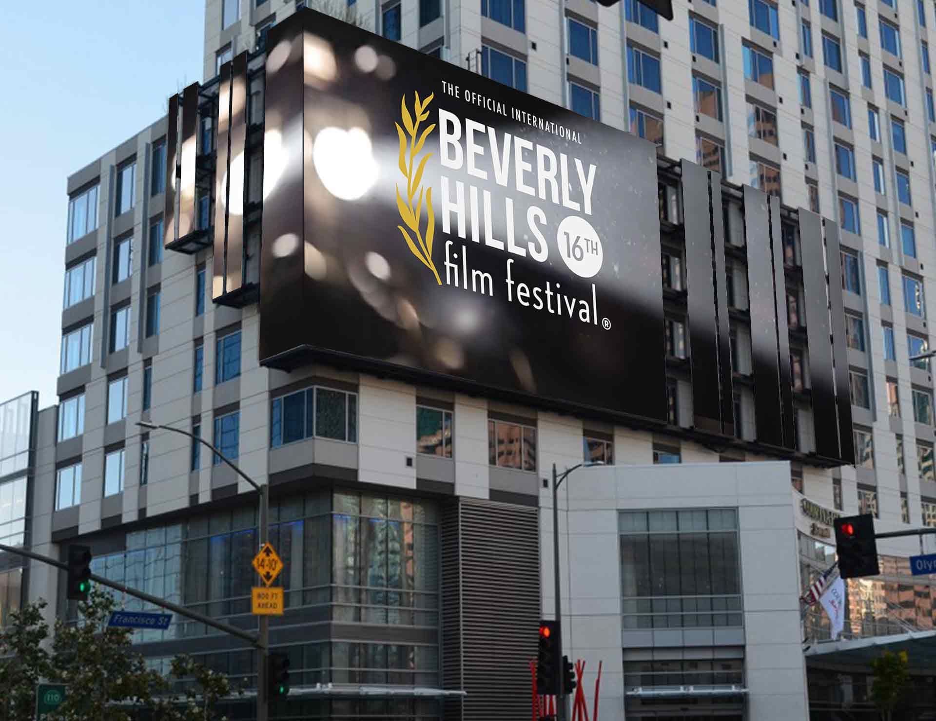 Billboard Beverly Hills Film Festival design