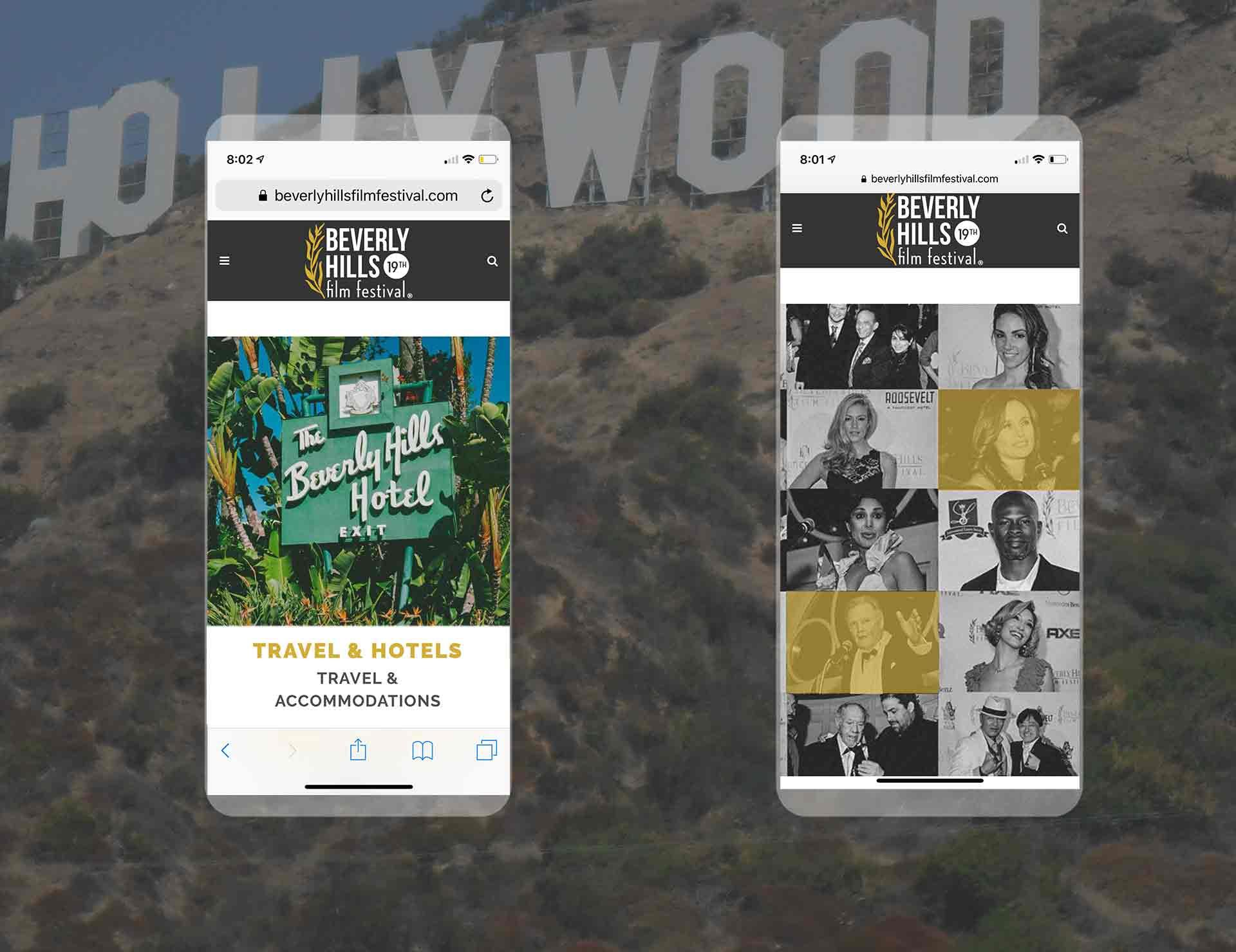 mobile Design beverly hills film festival
