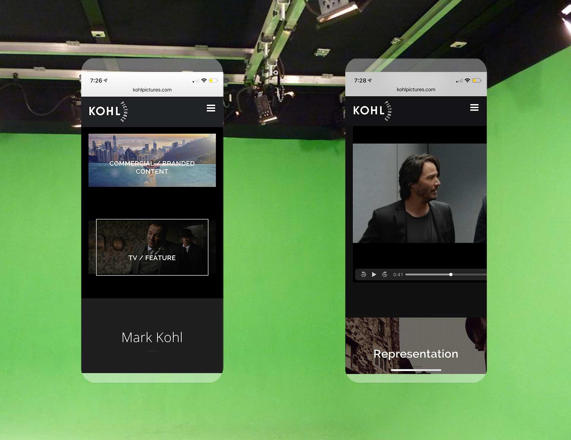 Mark Kohl Mobile Experience