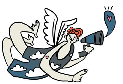 Angel illustration