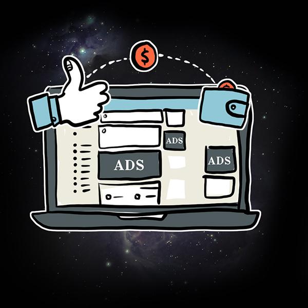 Facebook Ads illustration